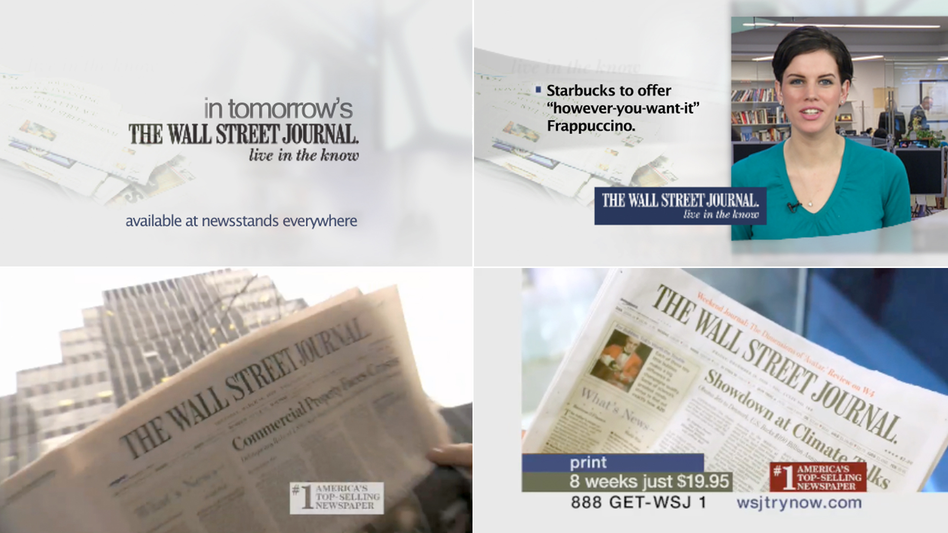 Commercial - In Tomorrow's Journal. The Wall Street Journal 2010.