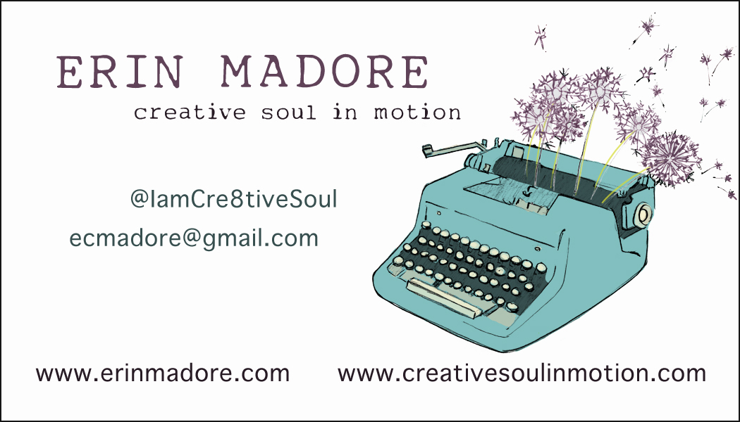 Business Card. Etsy Client 2012.