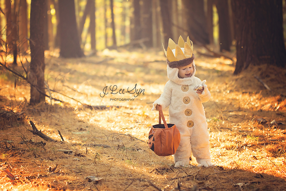 "Jax in his ""Where the Wild Things Are"" Halloween cosutme"