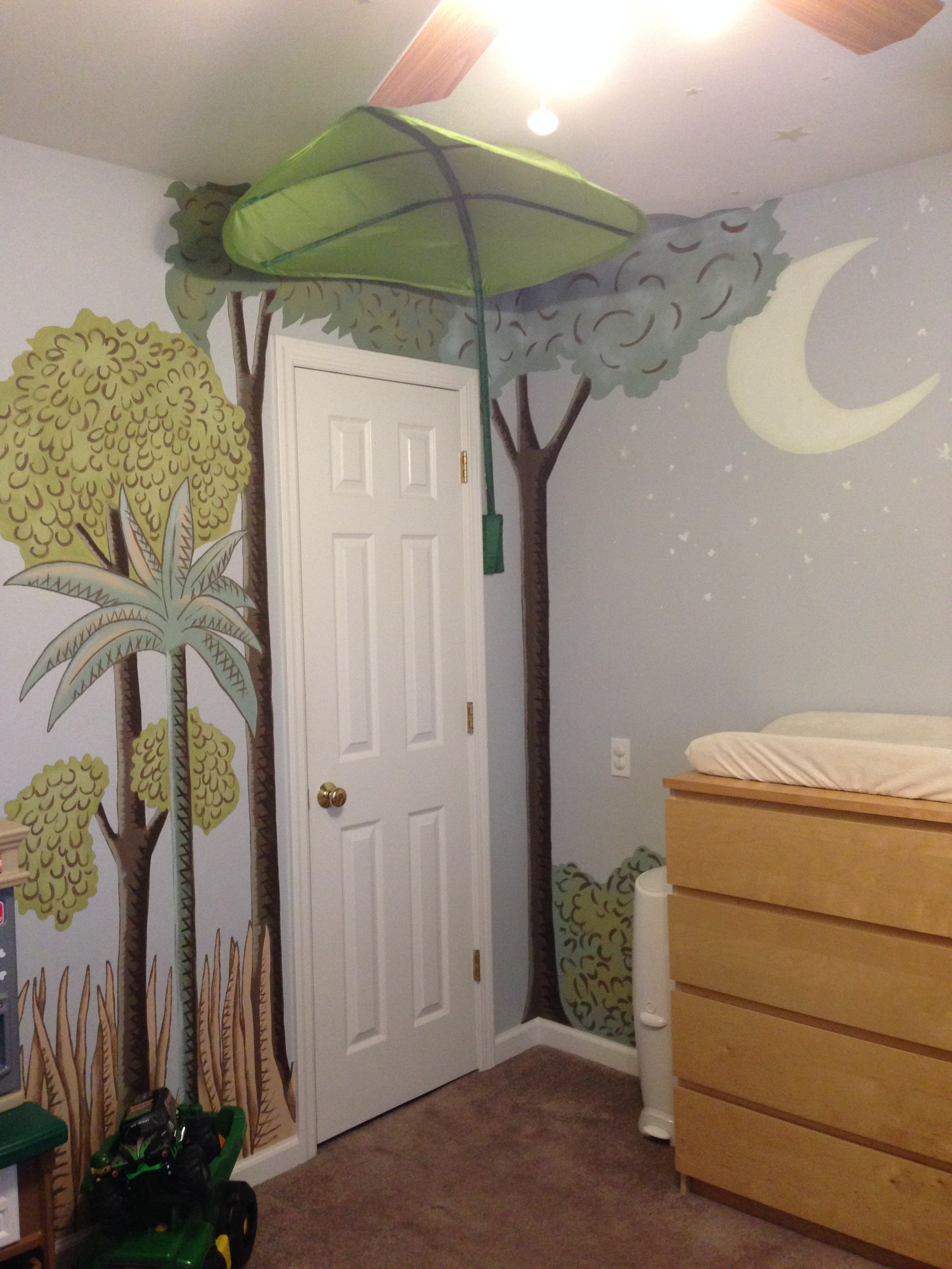 Where The Wild Things Are Bedroom Mural J Lee Syn